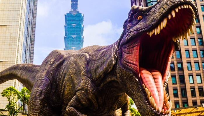 공룡이 만약 생존해있다면 어떨까?